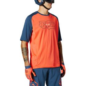 Fox Defend SS Jersey Men, oranje/blauw